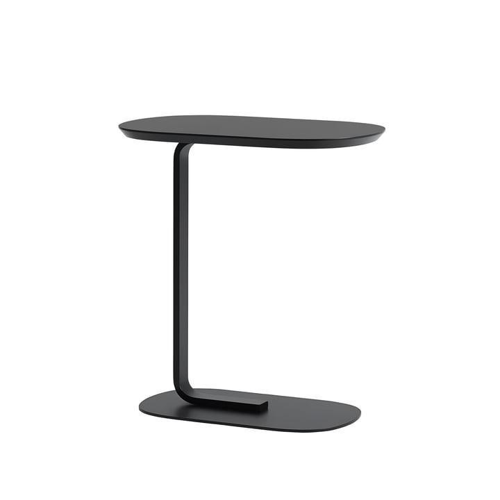Relate Side Table in zwart van Muuto