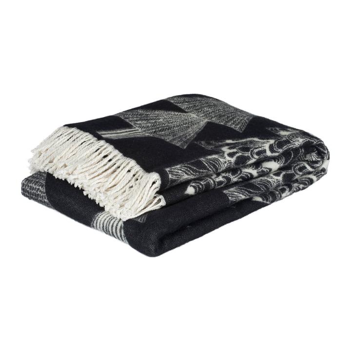 Kuusikossa vloerkleed 130 x 170 cm van Marimekko in zwart/wit