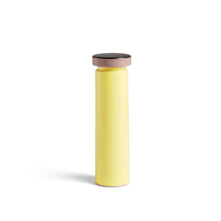 Zaai- en pepermolen M, Ø 6 x H 20 cm in geel bij Hooi