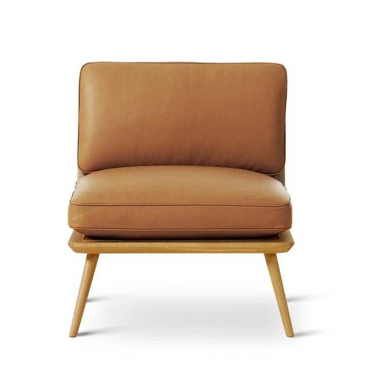 Ruggengraat Lounge Suite Stoel Petit van Fredericia in eiken blank gelakt