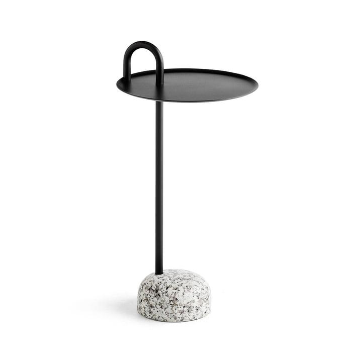 Bowler bijzettafel, Ø 36 cm / H 70,5 cm in zwart bij Hay