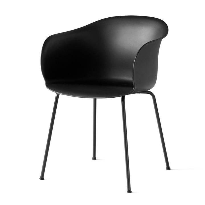Elefy stoel JH28 in het zwart volgens & traditie
