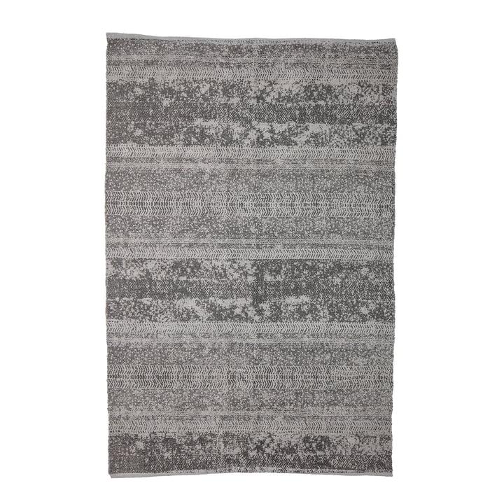 Tapijt met patroon, 180 x 120 cm, grijs van Bloomingville, 180 x 120 cm, van Bloomingville