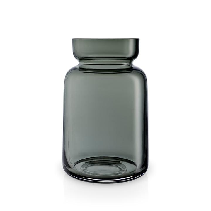 Silhouet glazen vaas H 18,5 cm van Eva Solo in gerookt grijs.