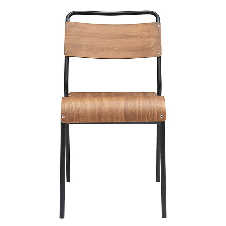 Originele stoel van House Doctor in bruin