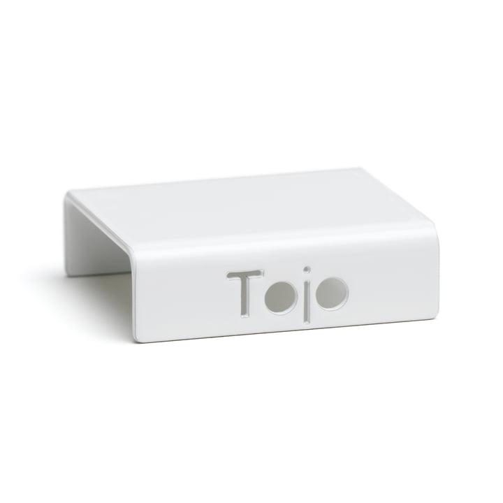 Clip voor hoogstapelingssysteem van Tojo in het wit