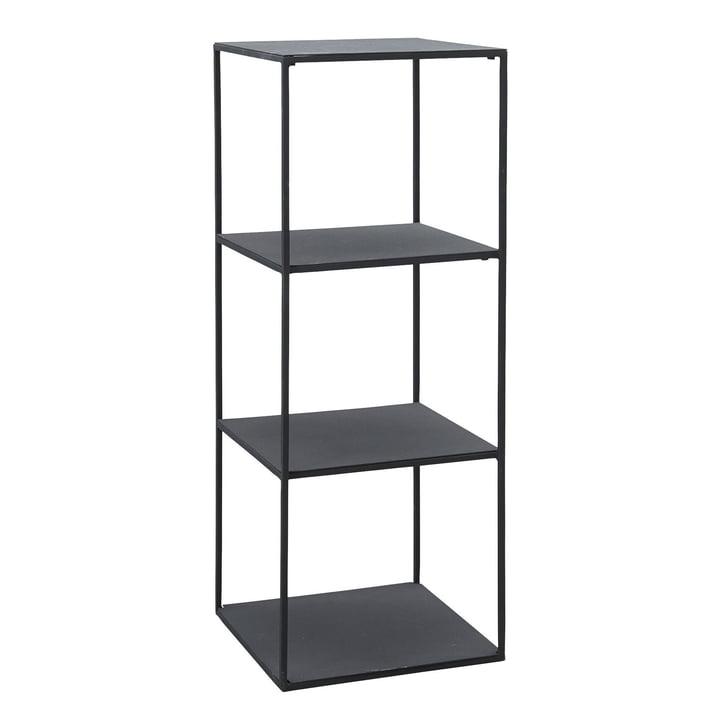 Open plank, model A H 90 cm van huisarts in zwart, model A H 90 cm.