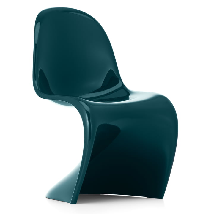 Panton Chair Classic van Vitra in benzine (Limited Edition)