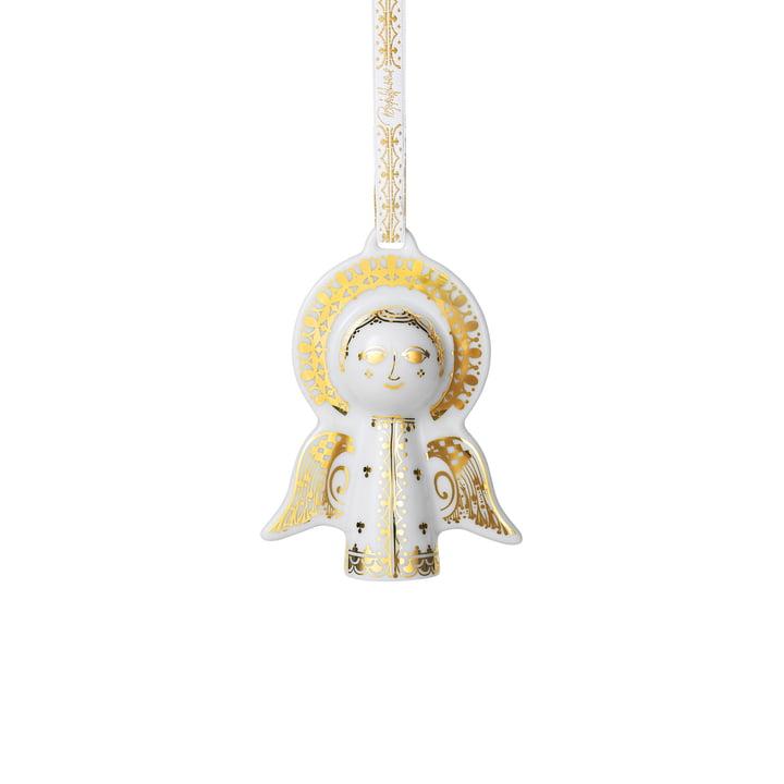 Kerstboom hanger engel van Bjørn Wiinblad in goud