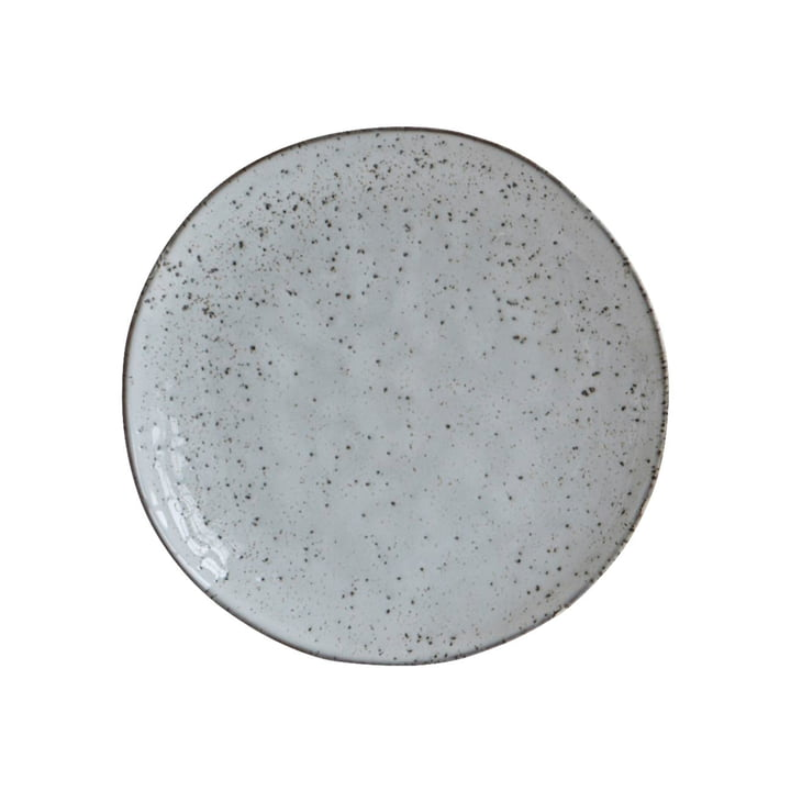 Bordje Rustiek Ø 20,5 cm, grijsblauw van huisarts