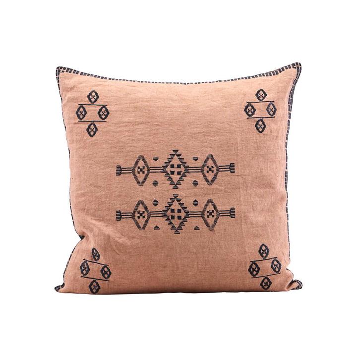 Inca kussensloop, 50 x 50 cm, naakt van huisarts, 50 x 50 cm.