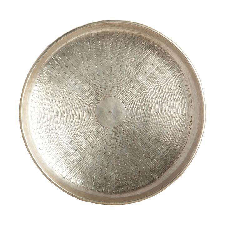Snijplateau, Ø 38 x H 5 cm, messing/zilver van House Doctor, Ø 38 x H 5 cm, van huisarts