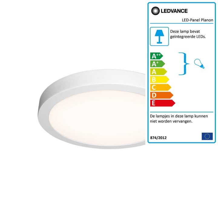 LED-paneel Planon Round, Ø 400 mm van Ledvance