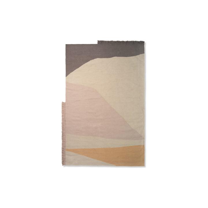 Kelim Mat Aarde 50 x 70 cm van de gisting Leven in multi