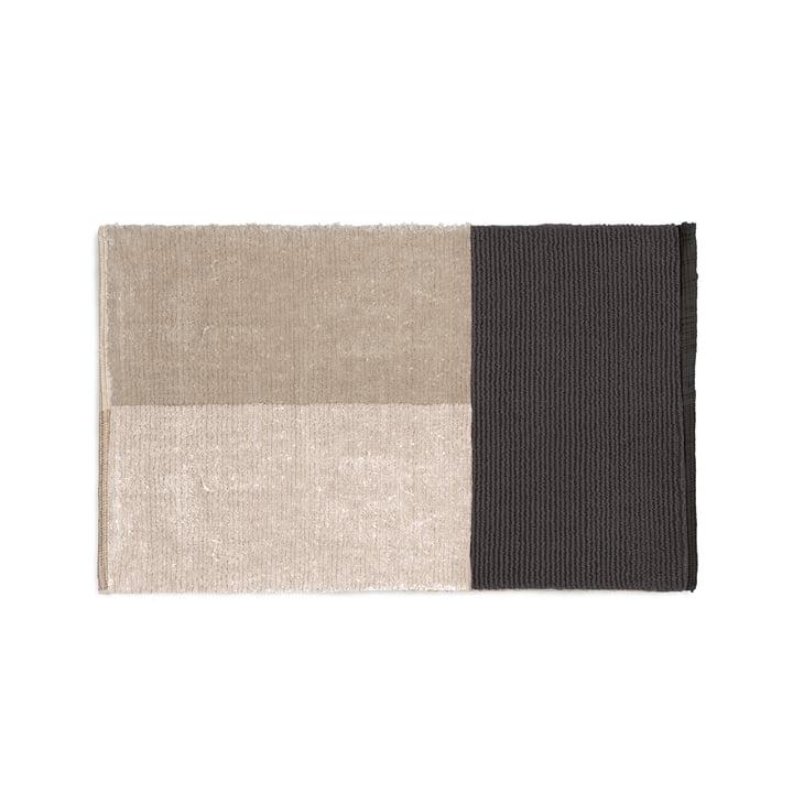 Stapelbadmat 80 x 50 cm van gisting Wonen in grijs