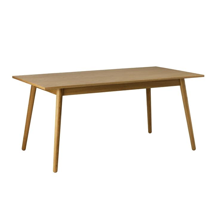 C35B Eettafel 82 x 160 cm van FDB Møbler in mat gelakt eiken.