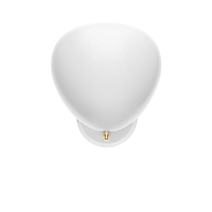 Cobra wandlamp van Gubi in het wit
