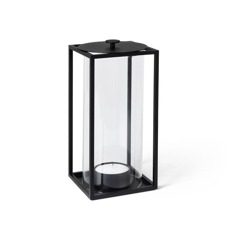 Light'In Lantern H 24 cm, zwart van Lassen.