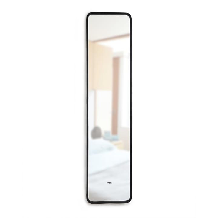 Spiegel met naafrugleuning van Umbra in het zwart