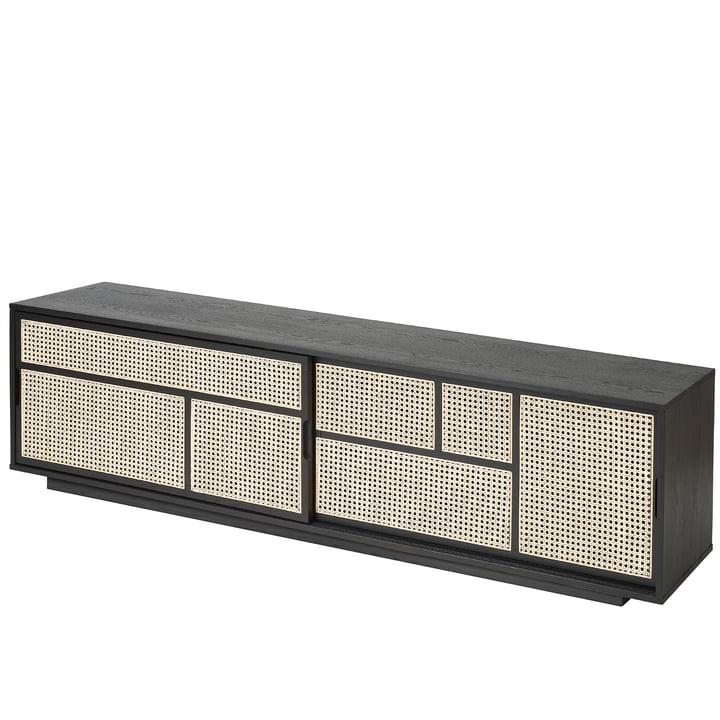 Air Sideboard / TV console van Design House Stockholm in het zwart
