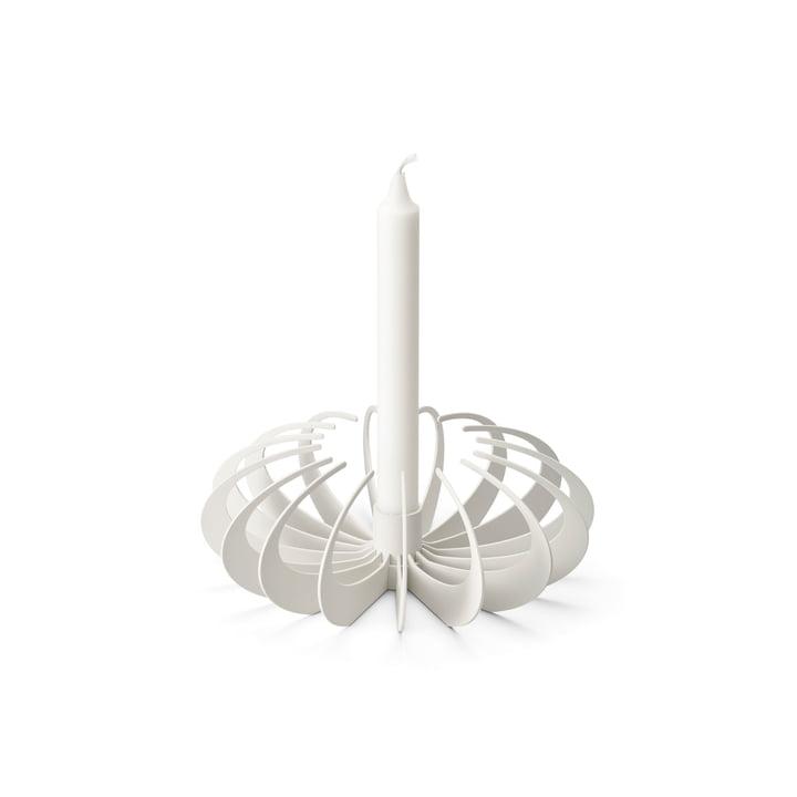 Schaduw kandelaar van Design House Stockholm in het wit