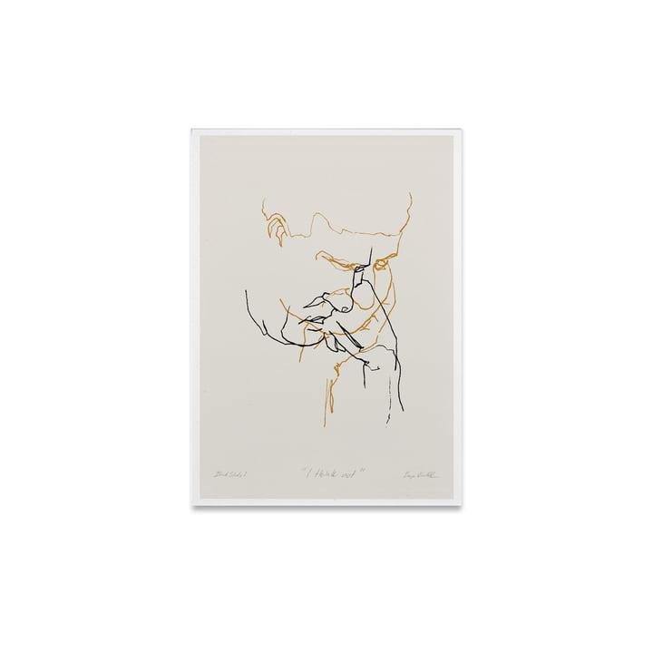 I Think Not 01 30 x 40 cm vanaf Paper Collective
