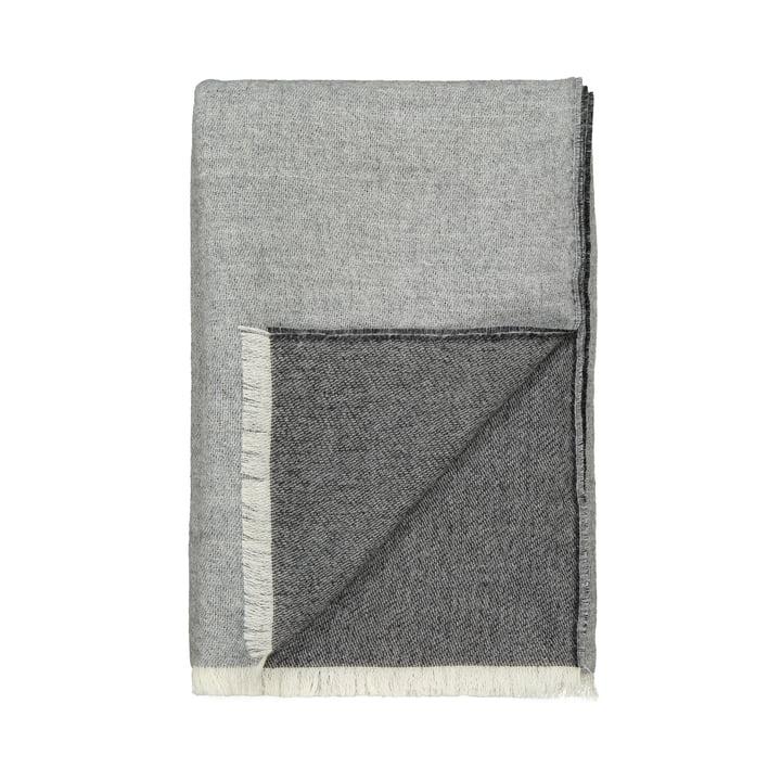 Venetië deken, wit/grijs van Elvang