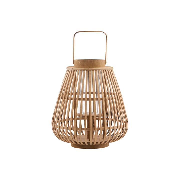 Balu lantaarn, Ø 30 x H 33 cm, naturel door huisarts