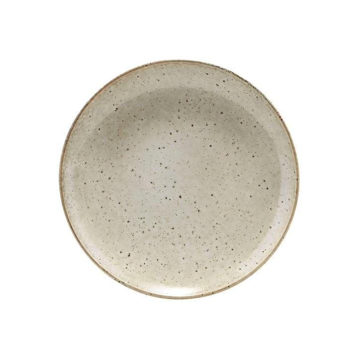 Meer aardewerk plaat Ø 21,4 cm, grijs van House Doctor