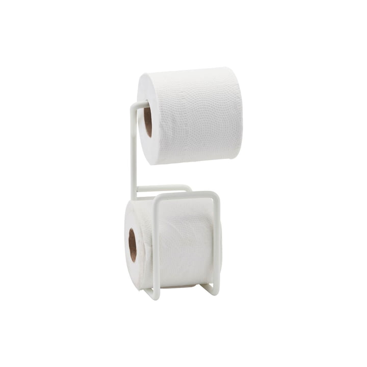 Via wc-papierhouder, wit van House Doctor