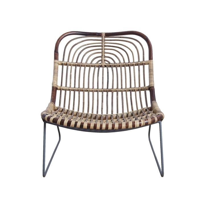 Kawa Lounge Chair, Rattan by House Doctor