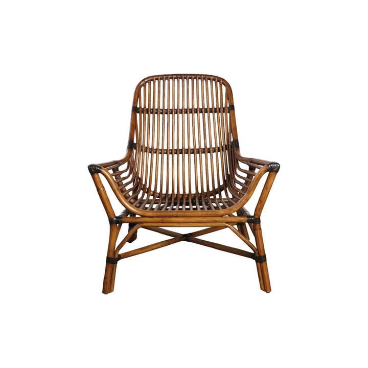 Colony Lounge Chair, bruin van House Doctor