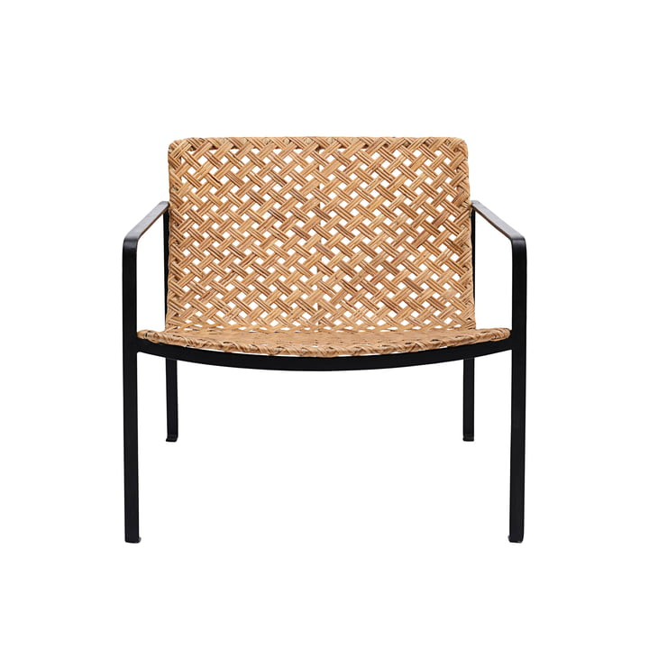 Habra Rattan Lounge Chair door House Doctor in de natuur