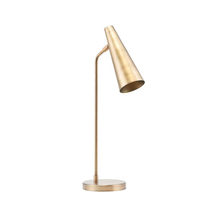 Precieze tafellamp H 52 cm van House Doctor in messing