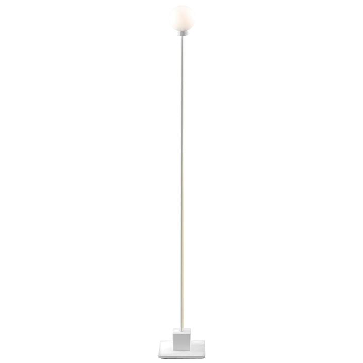 Sneeuwbal vloerlamp H 117 cm, wit van Noordelijk
