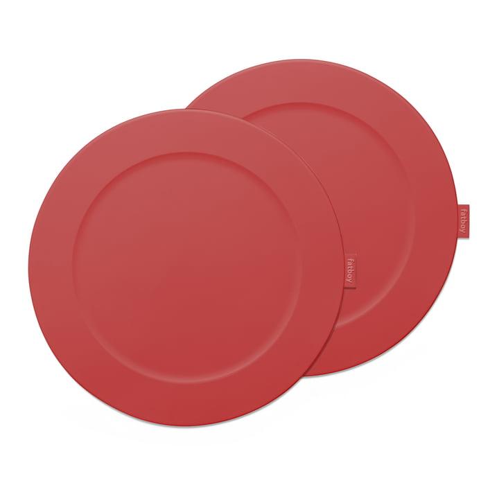 Place-we-met-plaatsmat Fatboy in de kleur industrieel rood