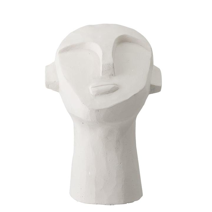 hoofdbeeld abstract H 22 cm van Bloomingville in beton wit