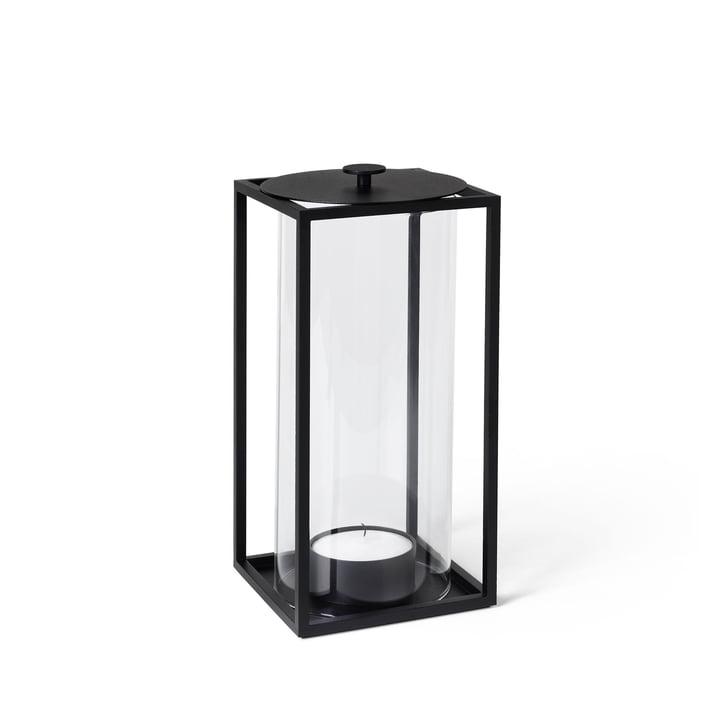 Light'In lantaarn H 20 cm van by Lassen in het zwart
