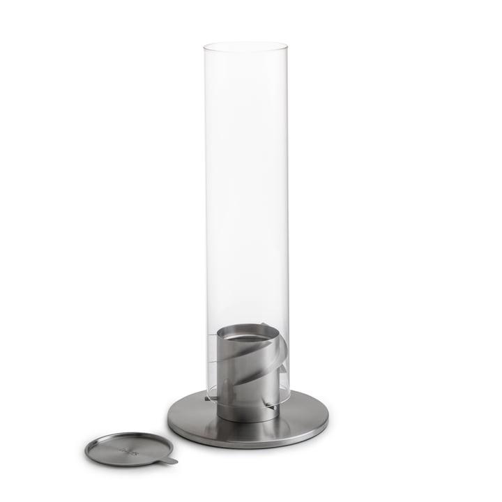 Spin Tafel brand 120, zilver van höfats