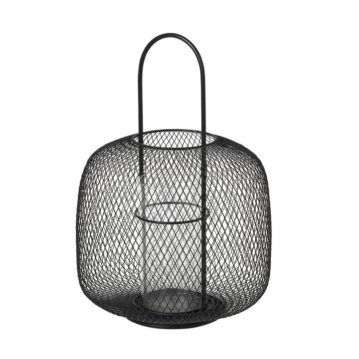 Boden Lantaarn, Ø 29,5 x H 42,5 cm, zwart bij Broste Copenhagen