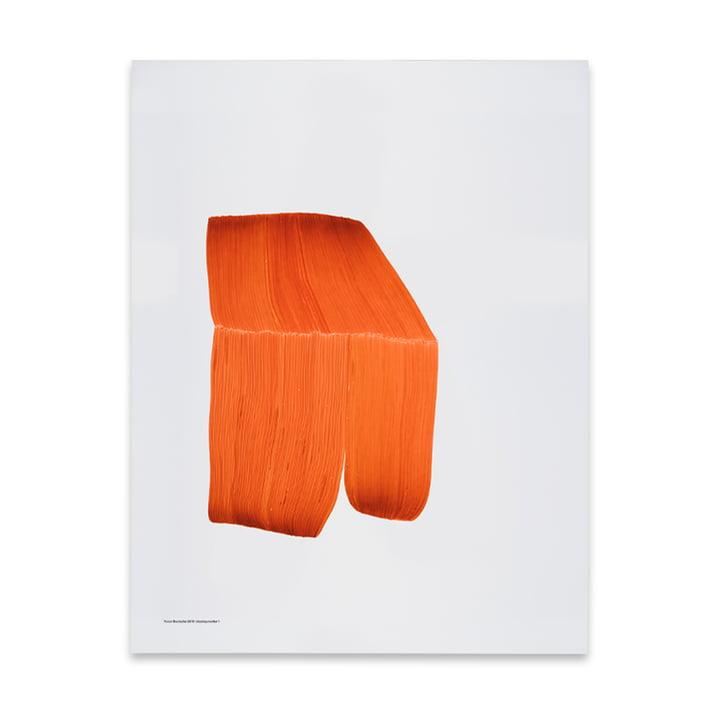 Drawing 1 poster 50 x 68,7 cm van The Wrong Shop in oranje
