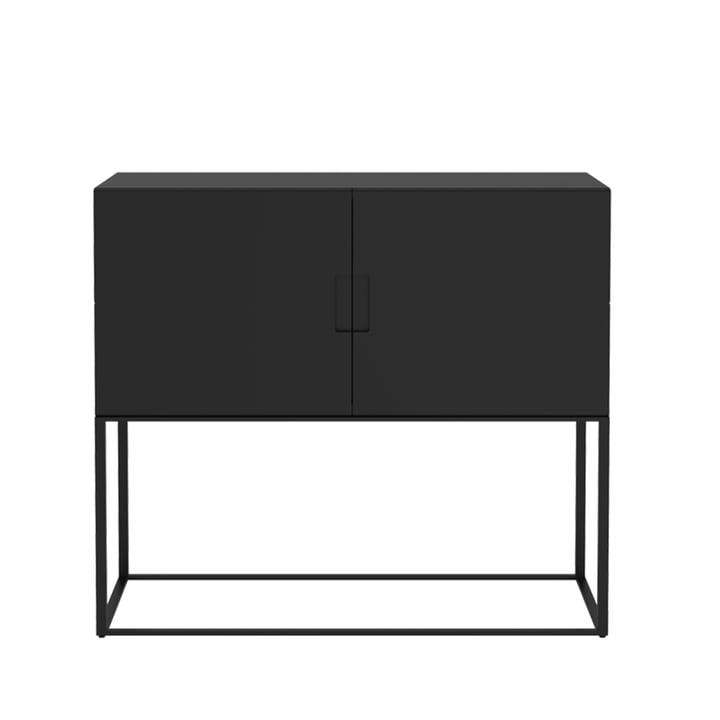 Fischer schapsysteem, Design nr. 1 van Objekte unserer Tage in het zwart