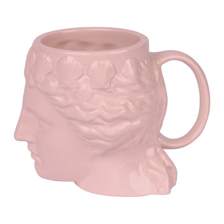 Aphrodite Mok met handvat, roze van Doiy