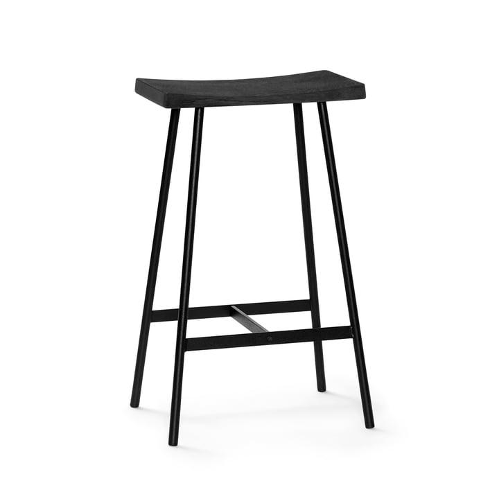 HC2 barkruk H 65 cm van Andersen Furniture in zwart eiken / zwart staal