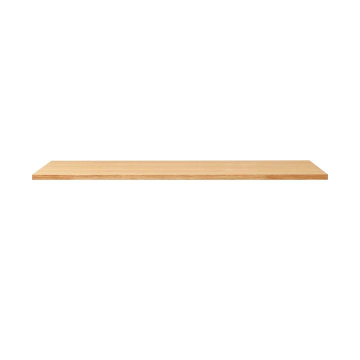 Lineair tafelblad, 125 x 68 cm, eiken van Form & Refine