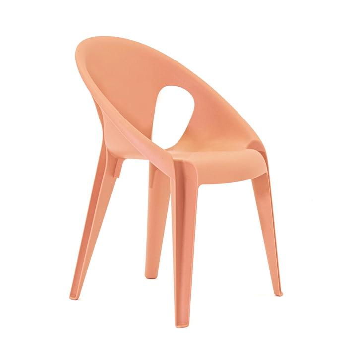 Bell chair in de kleur sunrose orange