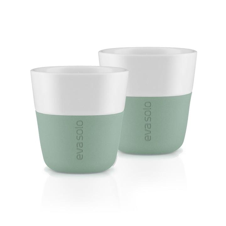 De espressokopjes (set van 2), faded green van Eva Solo
