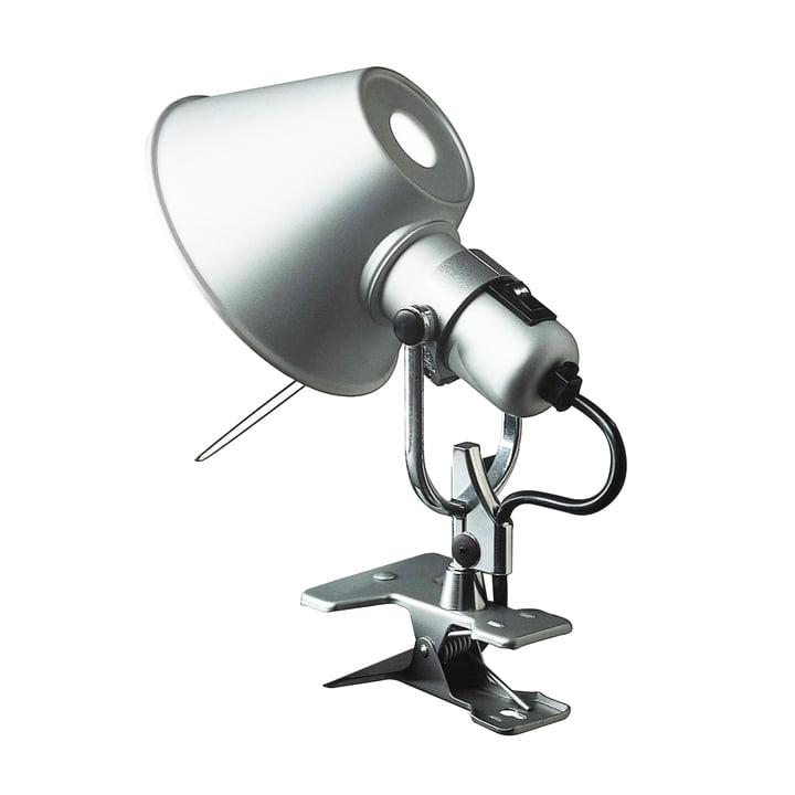 Tolomeo Micro Pinza klemlamp van Artemide in aluminium