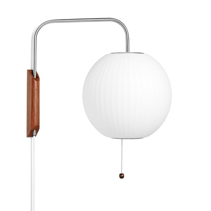 De wandlamp Nelson Ball Wall S, off white van Hay