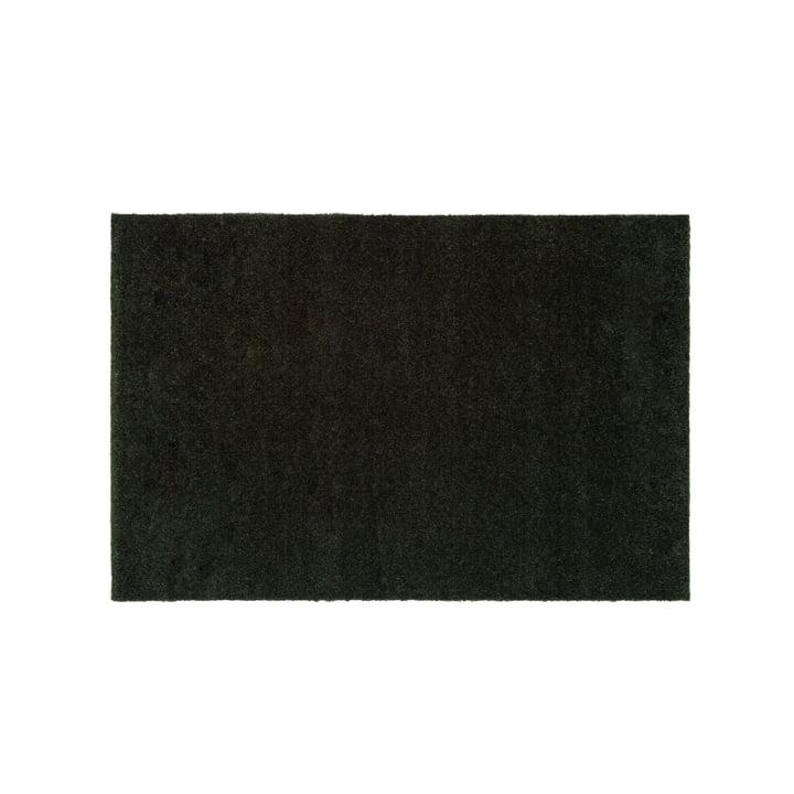 De deurmat Unicolor in donkergroen van tica copenhagen